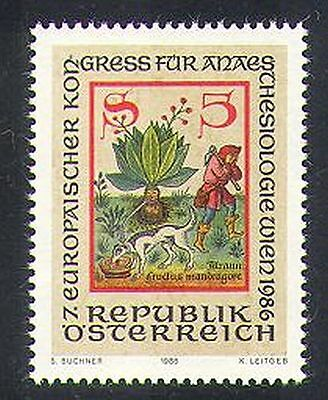 Austria 1986 Mandrake/Medical/Health/Medicinal Plants/Nature/Codex/Dog 1v n37407