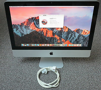 "Apple iMac 21,5"" A1311 Core i3 540 @ 3,06GHz 4GB 500GB DVD±RW (Mid 2010)"
