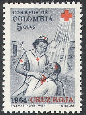 Colombia 1964 Red Cross/Medical/Health/Nurse/Nursing 1v  n27401