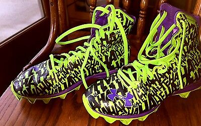 Highlight Under Armour Batman THE JOKER  football, lacrosse cleats Size 6Y BIN