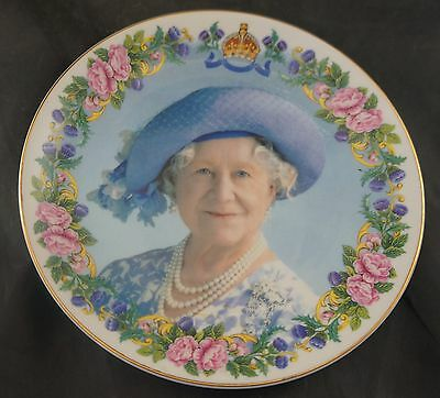 Plate to Commemorate the 100th Birthday of the Queen Mother in 2000