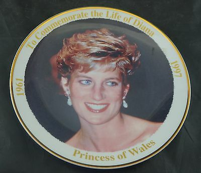 Plate to Commemorate the Life of Diana Princess of Wales 1961-1997