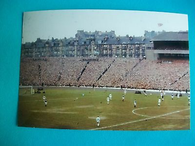 "GLASGOW RANGERS  v  CELTIC Cup Final Hampden Park  1960s  6""x4"" Photo  REPRINT"