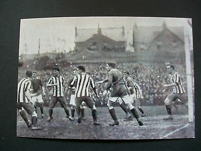"READING v MANCHESTER UNITED   1912  PHOTO  6""x4""  REPRINT POST FREE"