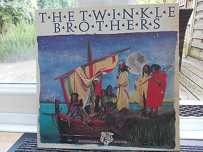 The Twinkle Brothers - Crucial Cuts Lp 1983 Virgin Excellent Listen