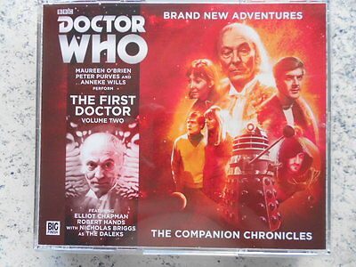 """Doctor Who The Companion Chronicles - """"The First Doctor: Volume Two"""" (4xCD)"""
