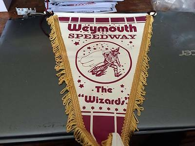 Weymouth Wizards---1970's---Speedway Pennant