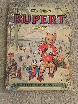 THE NEW RUPERT BOOK 1951 - Annual - Unclipped