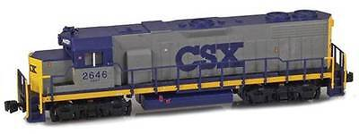 AZL Z Scale Locomotive CSX Rail GP38-2 Road Number 2646