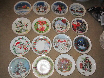 Western Stoneware Co. Christmas Plate Collection Monmouth Illinois