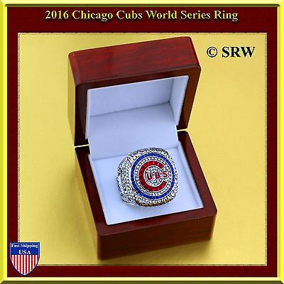 2016 NEW CHICAGO CUBS WORLD SERIES MLB Championship Ring SIZE 11