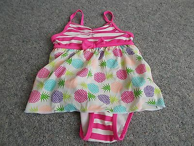 Baby Girl Swimsuit with over dress (from underarm length age 6 - 9 months)