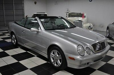 2002 Mercedes-Benz CLK-Class ONE OWNER - ONLY 71K MILES - AMAZING CONDITION CLK 430 CLK430 AMG CABRIOLET CLK500 CLK350