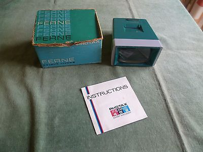 Ferne 35mm colour slide viewer - in original box - Ferne 402 with instructions