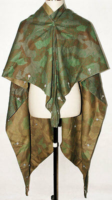 Ww2 German Splinter Camo Reversible Tent Zeltbahn-31467
