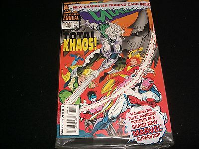 Excalibur #1 (Annual)<>Sealed<>Marvel Comics ~ 1993 (64 Pages)-With Card