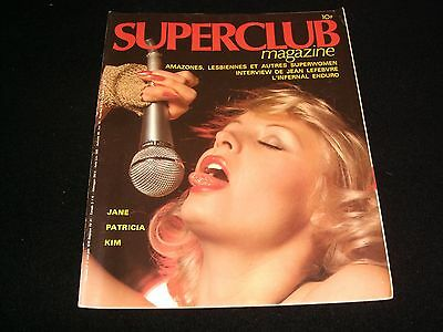 Superclub°French Mag.<>Men's Interest Magazine<>1978° Number 3