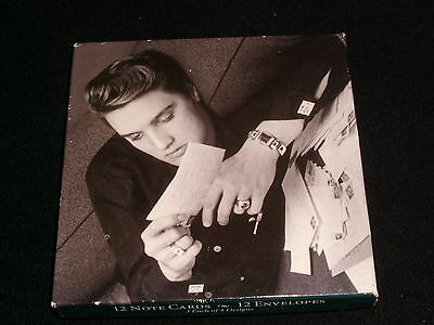 Elvis Presley<>12 Note Cards And Envelopes ° The Wertheimer Collection