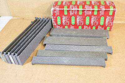 LGB 66034 BOX of 300mm LONG STRAIGHT STATION PLATFORM LEVEL CROSSING SECTIONS nk