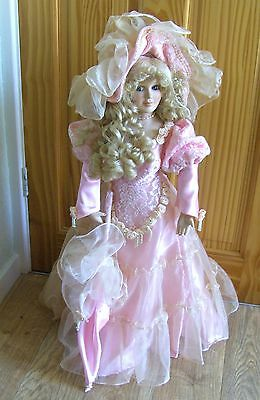 "The Knightsbridge Collection 26"" porcelain doll ""Jocelyn""  Boxed"
