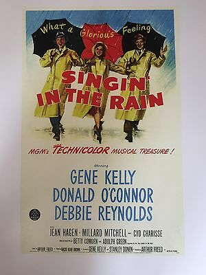 "SINGIN' IN THE RAIN CLASSIC MOVIE POSTER PRINT READY TO FRAME 12""x16"" FREE P&P"