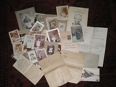 Lot de documents et photographies ancienne  militaire  guerre de 1914/1918.....