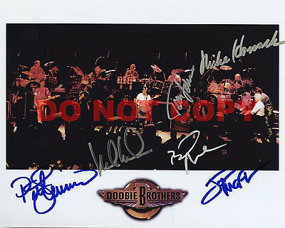 REPRINT RP 8x10 Signed Autographed Photo Picture: Doobie Brothers