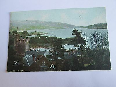 Postcard of Kyles of Bute posted 1919