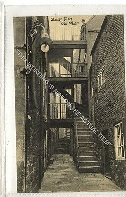 (Ga8451-477) Stanley place, Old Whitby c1910 EX J.T.Ross