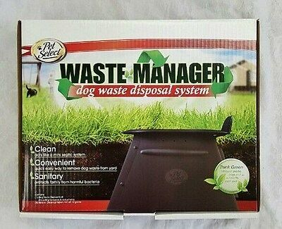 Waste Manager Dog Waste Disposal Septic System