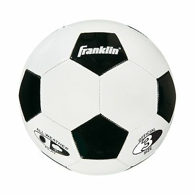 Franklin Sports High Quality Competition 100 Soccer Ball Size 3 Soft Durable