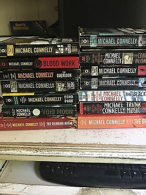 Michael Connelly lot of 19 incl The Black Echo, The Crossing, The Burning Room