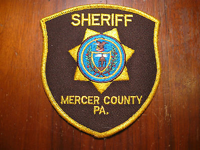 Mercer County Pennsylvania Sheriff/police Patch