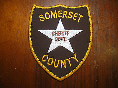 Somerset County Pennsylvania Sheriff/police Patch