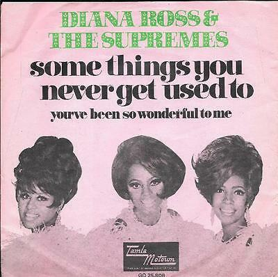 DIANA ROSS & the SUPREMES 45 SOME THINGS YOU NEVER GET+PS HOLLAND RARE MOTOWN