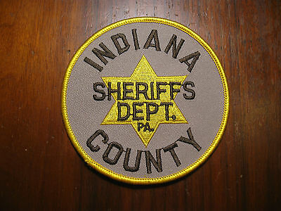 Indiana County Pennsylvania Sheriff/police Patch