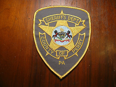 Perry County Pennsylvania Sheriff/police Patch