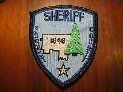 Forset County Pennsylvania Sheriff/police Patch