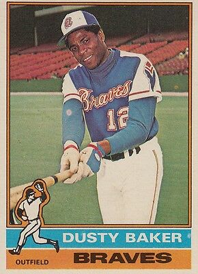 Topps 1976 #28 Dusty Baker-Atlanta Braves