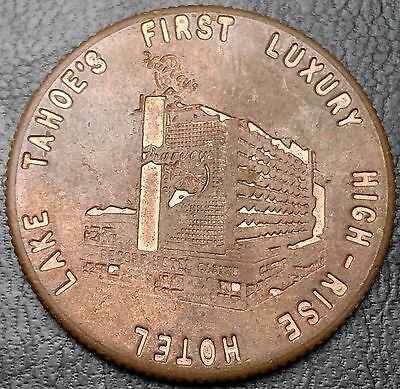 Vintage Harvey's Casino Lake Tahoe Lucky Token - Free Combined S/h