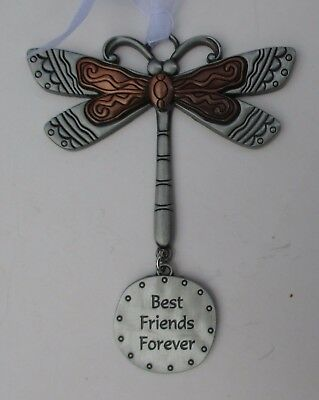 n Best friends forever DRAGONFLY Let your Spirit Soar ORNAMENT ganz car charm