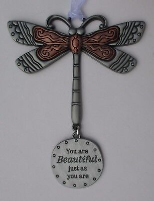 t You are beautiful just as u are DRAGONFLY Let your Spirits Soar ORNAMENT ganz