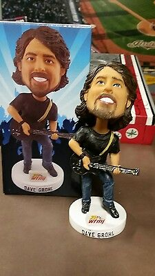 Dave Grohl Bobblehead Mahoning Valley Scrappers Foo Fighters Nirvana