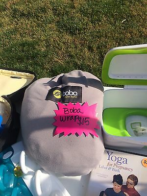 Boba Wrap Baby Carrier - Gray (moby)