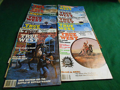 12 1983 TRUE WEST MAGAZINE Non-Fiction Cowboy Treasure Hunting Stories