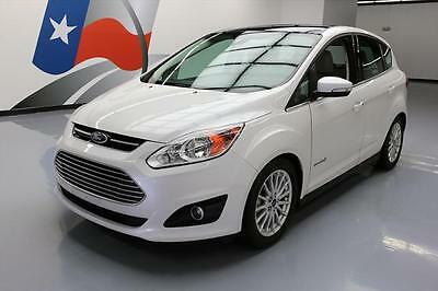 2016 Ford C-Max  2016 FORD C-MAX SEL HYBRID PANO SUNROOF NAV LEATHER 23K #112196 Texas Direct