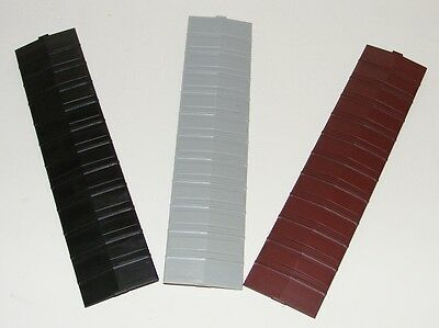 Pacific Rail Shops ~ PRS S scale 3 x 1937 AAR 40' Steel Boxcar Roofs - Any Color