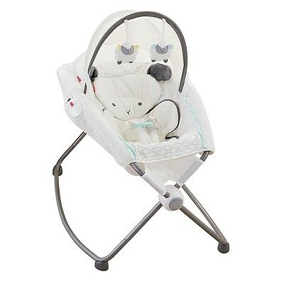 Fisher-Price My Little Lamb Deluxe Rock n Play Soothing Seat