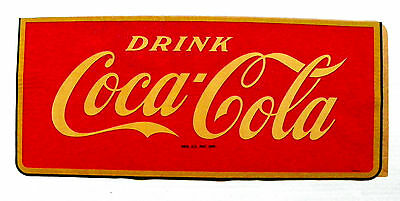 "1930's ""DRINK COCA-COLA"" DECAL"
