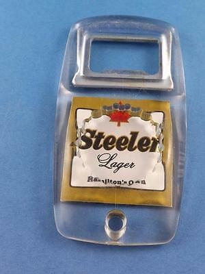 Steeler Lager  Beer Hamilton Canada Bottle Opener Vintage Brewery Collector